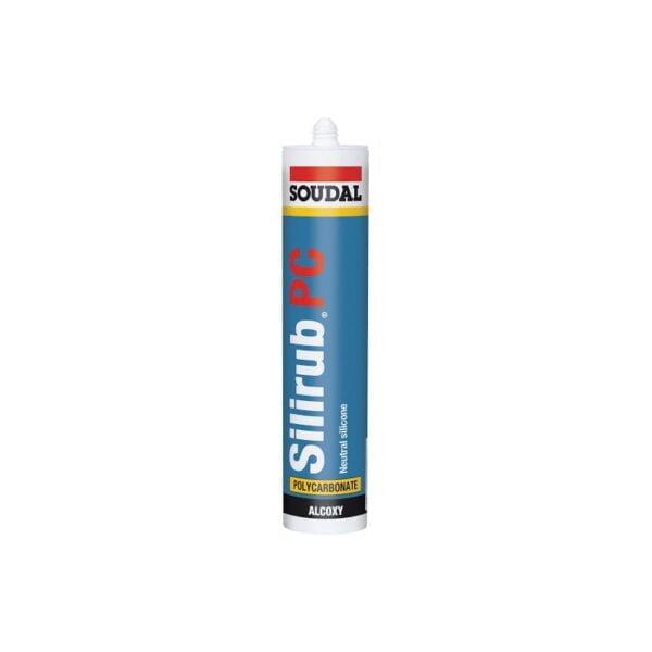 silicona sellador especial para policarbonato silirub pc